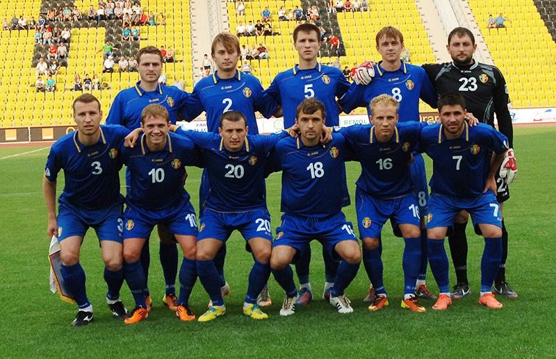 футбольные команды в каких формах играют в молдове